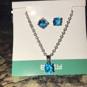 Effy necklace and earrings set
